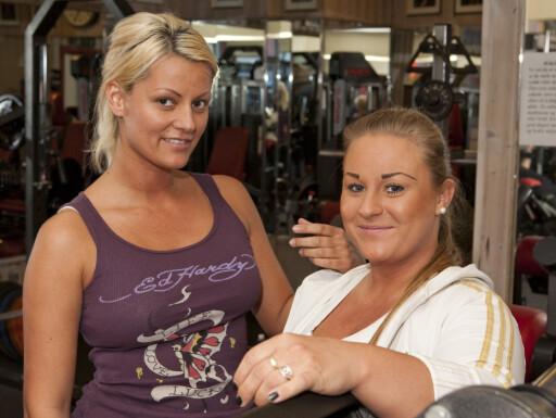 Maylen Olsen og Helen Richardsen mener også hygiene er et av de størte problemene på trening. Foto: Per Ervland