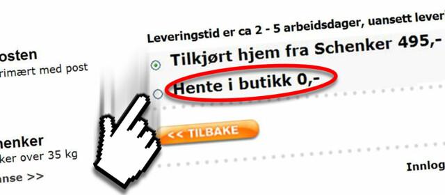 ca116432f Netthandel: Her slipper du fraktkostnadene - DinSide