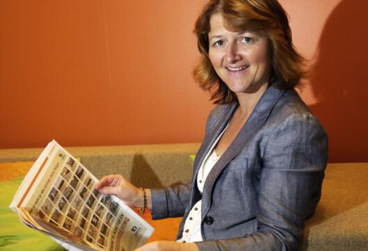 Finanskrisen viste at nordmenn er flinke til å prioritere økonomisk, sier Ellen Dokk Holm i Postbanken.  Foto: Postbanken