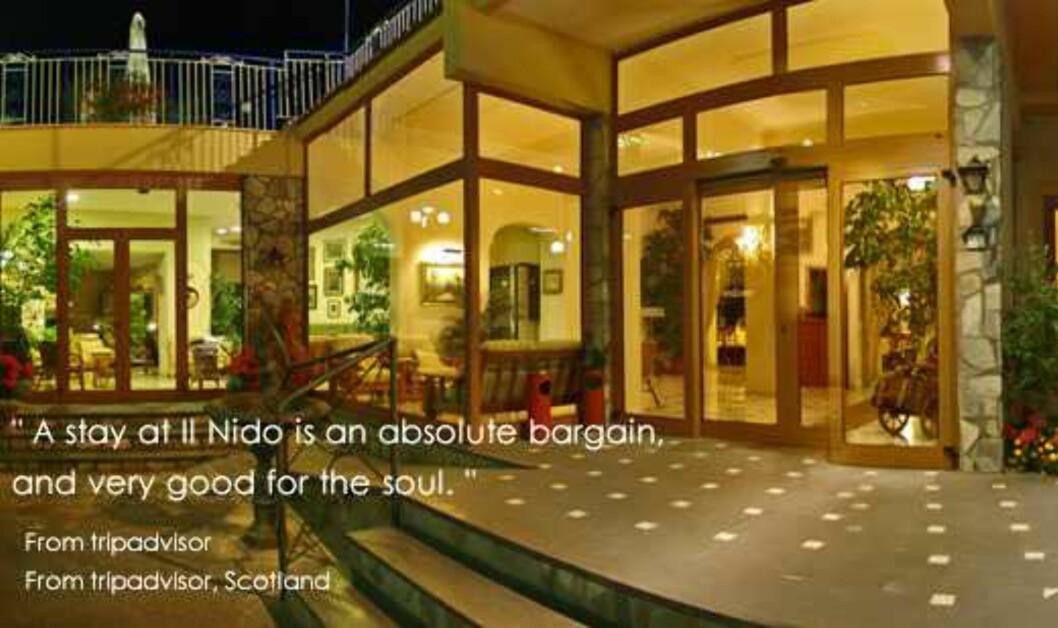 Il Nido, Sorrento, Italia Foto: Hotellet