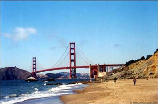 Golden Gate-broen. Foto: www.aviewoncities.com