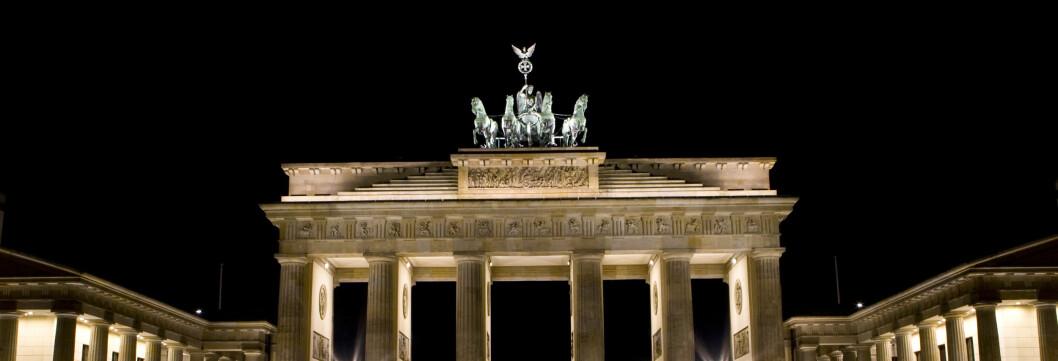 Brandenburger tor er et av Berlins mest kjente landemerker. Foto: Colourbox