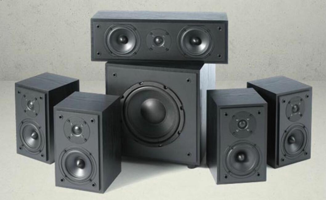 Argon Junior - kompakt surround-anlegg Foto: Hi-Fi Klubben