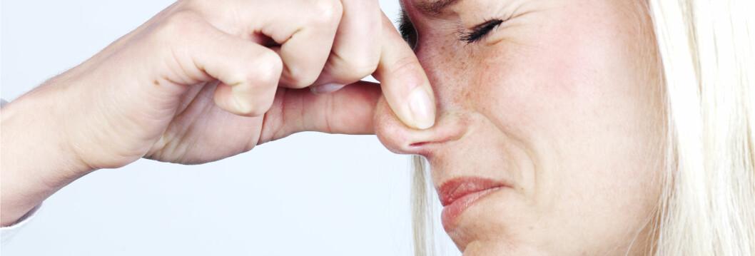 <strong>EFFEKTIVT TRIKS:</strong> Holder du pusten får du kroppen til å begynne å kvitte seg med karbondioksyd, framfor å hikke. Foto: Colourbox