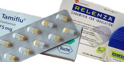 Hva er forskjellen på Tamiflu og Relenza?