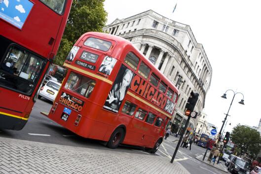 Januar er lavsesong i London - men det er da det er salg overalt, for da skal det gjøres plass til vårvarene. Foto: Colourbox