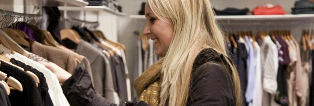 Januar er den store salgsmåneden, men i London begynner de første varemagasinene salget i romjulen. Foto: Colourbox