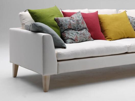 Norrgavel leverer formen. Du bestemmer selv hvordan du ønsker at sofaen skal se ut til slutt.   Foto: Norrgavel