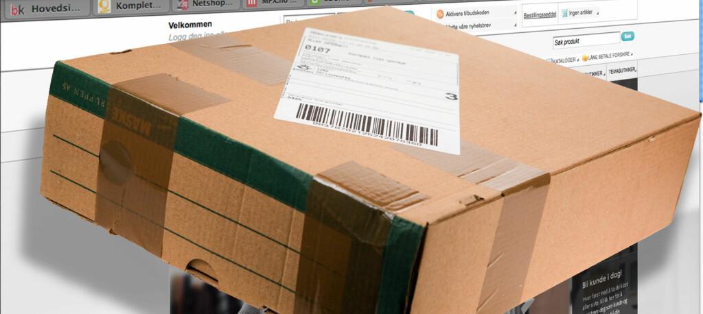 <b>MYE Å PASSE PÅ:</b> Kommer pakken i tide? er bare en av tingene du bør sjekke før du handler på nettet. Foto: Per Ervland