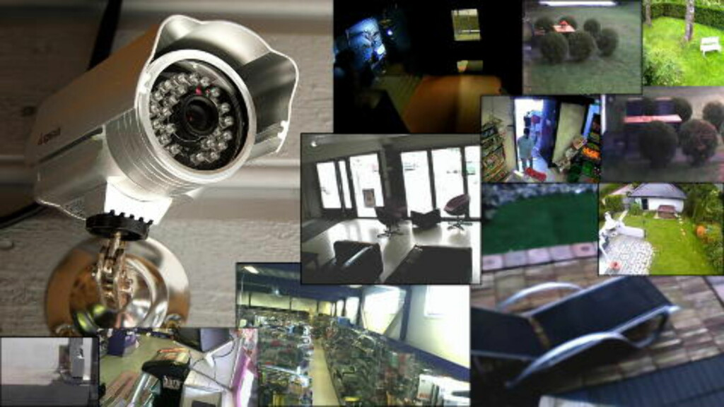 CAMERAS: 2048 surveillance cameras found in private homes, night clubs, shops and restaurants.