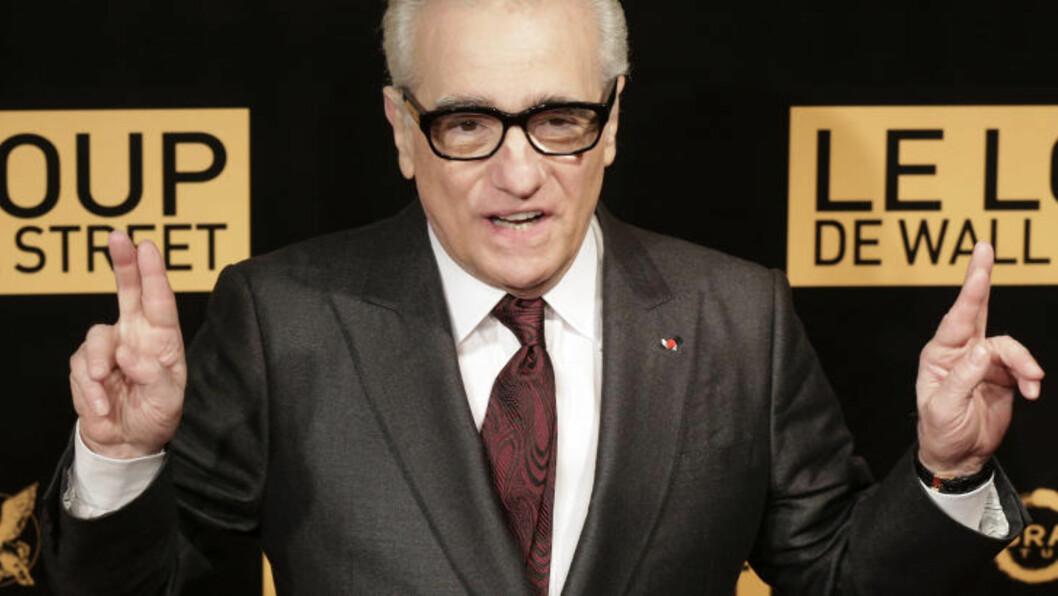 <strong>REGISSØR:</strong> Det er stjerneregissør Martin Scorsese som står bak den stjernespekkede  «The Wolf of Wall Street». Filmen har norsk premiere 31. januar 2014. Foto: Scanpix