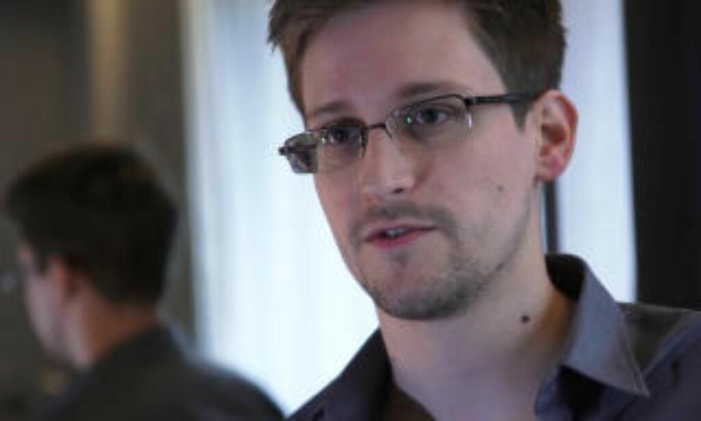 WHISTLEBLOWER: Edward Snowden, who has been working at the National Security Agency for the past four years, revealed himself as the source behind bombshell leaks of documents from the NSA this summer. TOPSHOTS / AFP PHOTO / THE GUARDIAN