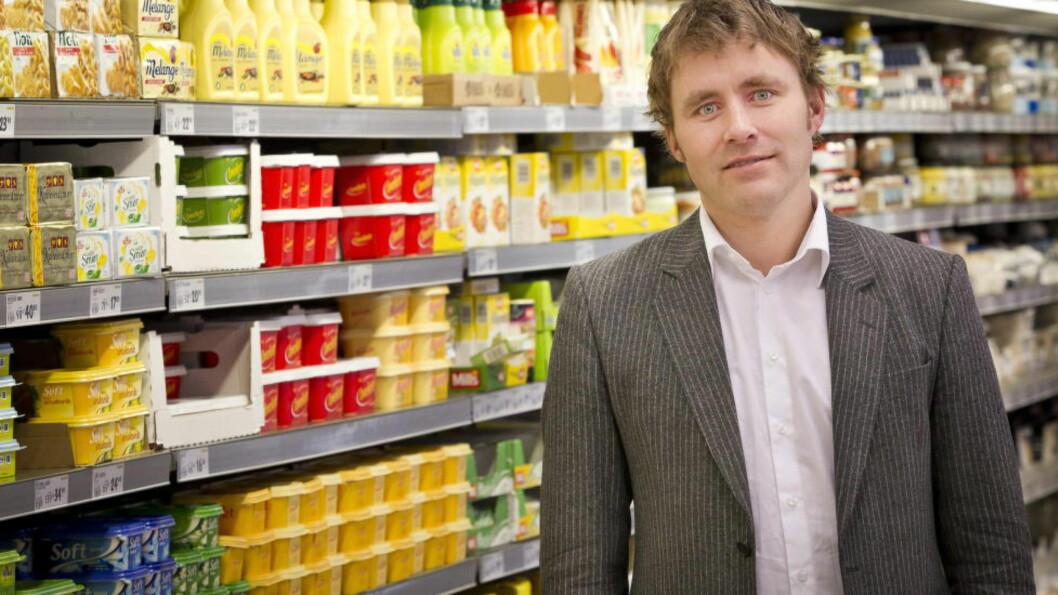 HANDEL: Kjøpmann og sjef for Bunnpris kjeden, Christian Lykke, vil ikke ha kommunisme i dagligvarehandelen. Foto: Ole Morten Melgård