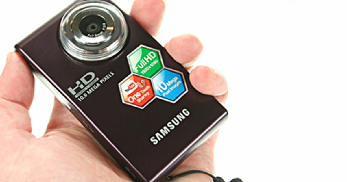 videokamera test samsung hmx u10 hd lommekamera dinside. Black Bedroom Furniture Sets. Home Design Ideas