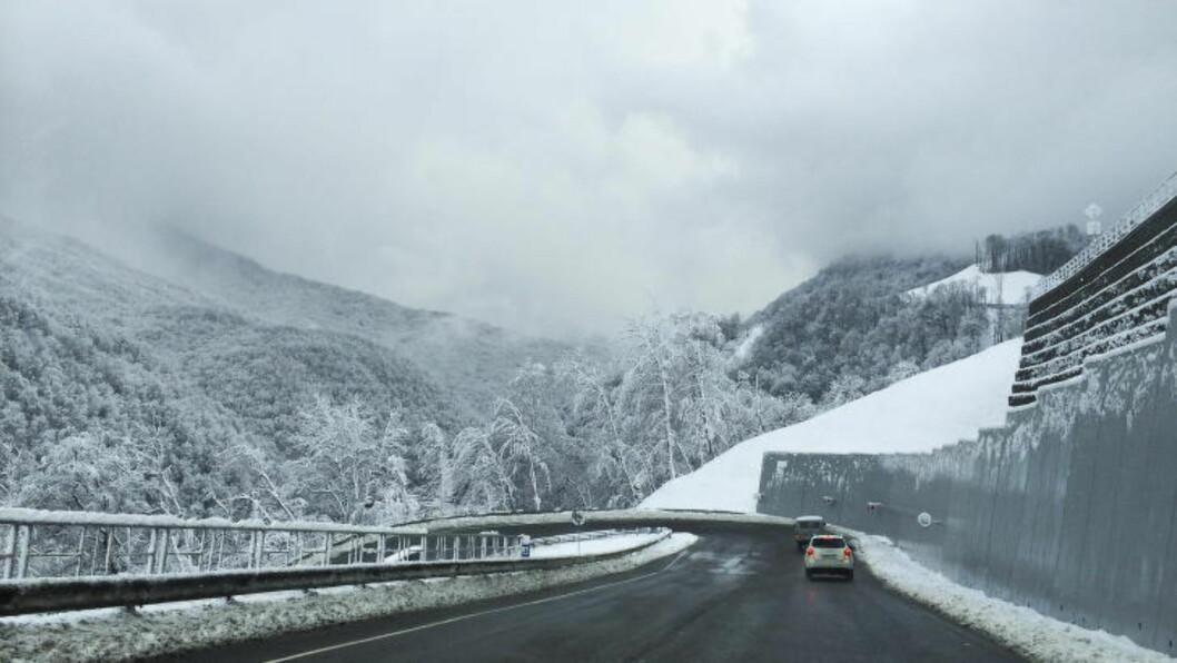 <strong>NOK AV SNØ:</strong> Det er hvitt og fint i fjellene der snø-øvelsene skal avholdes, men begrenset med treningsløyper utenfor konkurranse.   Foto: Håkon Eikesdal