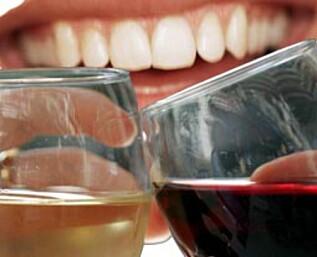 Hvitvin er verre enn rødvin