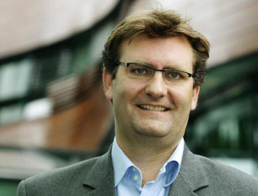 Ole Tom Seierstad, sikkerhetsansvarlig i Microsoft Foto: Microsoft