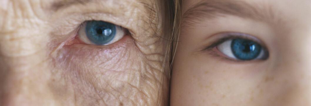 <strong>STADIG ELDRE:</strong> Det er ingenting som tyder på at en øvre grense er nådd for forventet levealder, ifølge forskerne. Foto: colourbox.com