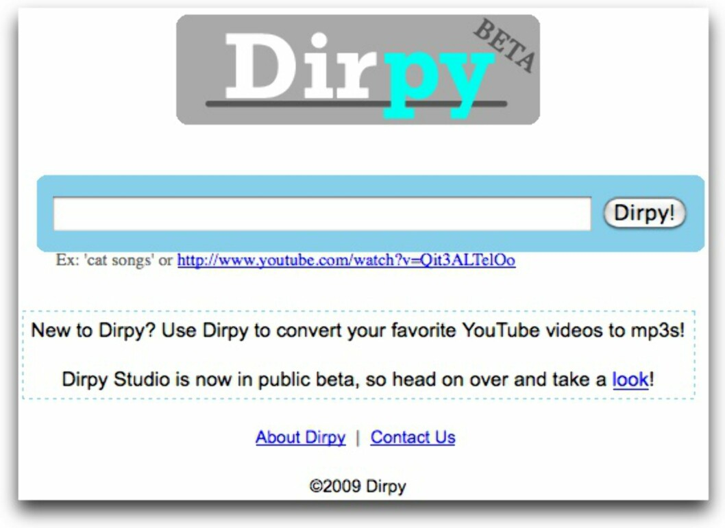 Youtube til MP3