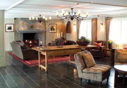 Lysebu er et lekkert hotell ved markagrensen. Foto: Lysebu