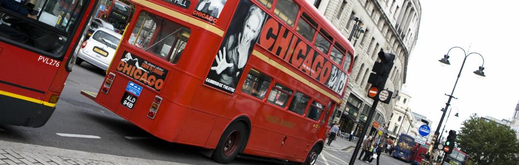 Det er nå du bør dra til London. Foto: Colourbox