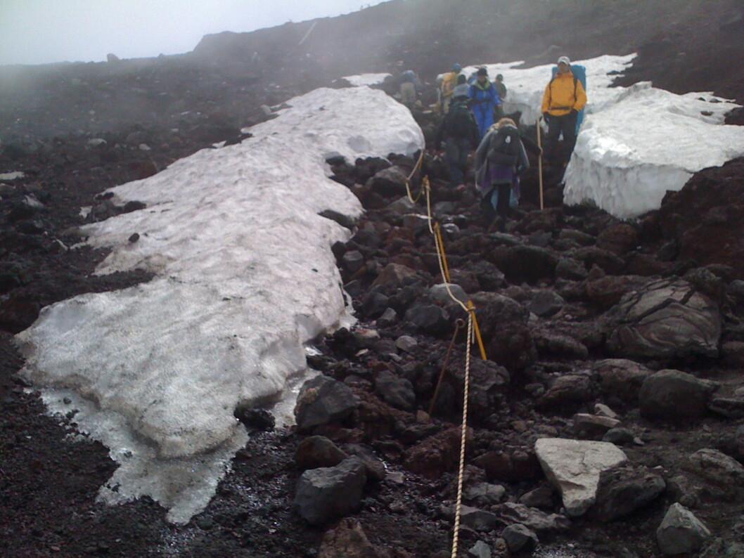 <strong><b>Built for comfort:</strong> </b>Mannskeper har tatt bort snøen, så har vi ihvertfall ikke det å slite med.