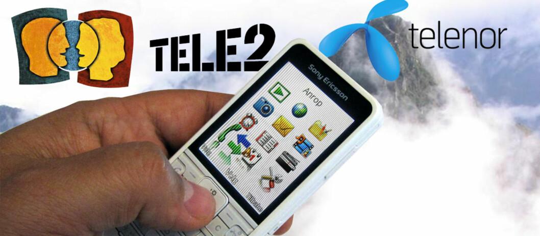 Det kan være svært dyrt å trykke på mobiltelefonens svar-knapp i utlandet. I enkelte land er det faktisk dyrere å motta en samtale enn det er å ringe hjem.<br /> ILLUSTRASJON: Bjørn Eirik Loftås