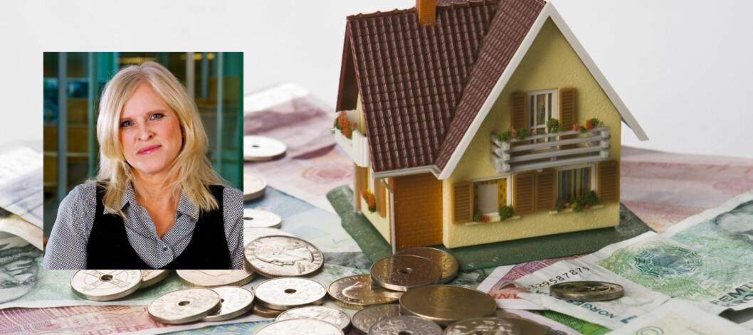 Du har ingen ting å tape på å refinansiere boliglånet, sier Sidsel Sodefjed Jørgensen i DnB NOR.  Foto: Colourbox / DnB NOR