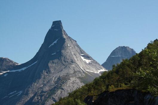 Vet du hva dette fjellet heter? Ta testen og sjekk kunnskapene dine. Foto: Wikipedia Commons