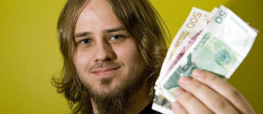 Trond Bie (26) fikk penger tilbake da han følte han hadde gjort et dårlig kjøp. Foto: Per Ervland