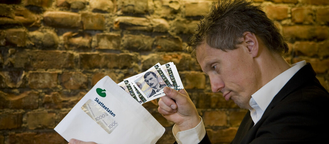 Det er sure penger, men rentene løper om du ikke betaler restskatten i tide. Foto: Per Ervland
