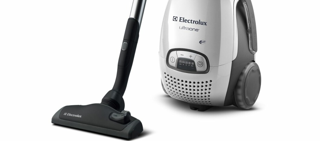 UltraOne fra Electrolux kom desidert best ut i de europeiske forbrukerrådenes store test av støvsugere.  Foto: Produsenten