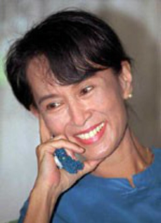 Aung San Suu Kyi ønsker turister til Burma. Foto: U.S. Department of State