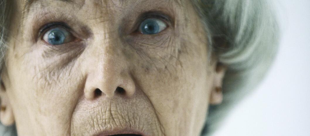 <strong>STIV AV SKREKK:</strong> Vanligvis brukes uttrykket om at du kan bli handlingslammet av frykt. Stivnede ledd er imidlertid også et kjent symptom ved alvorlige psykiske lidelser.  Foto: colourbox.com