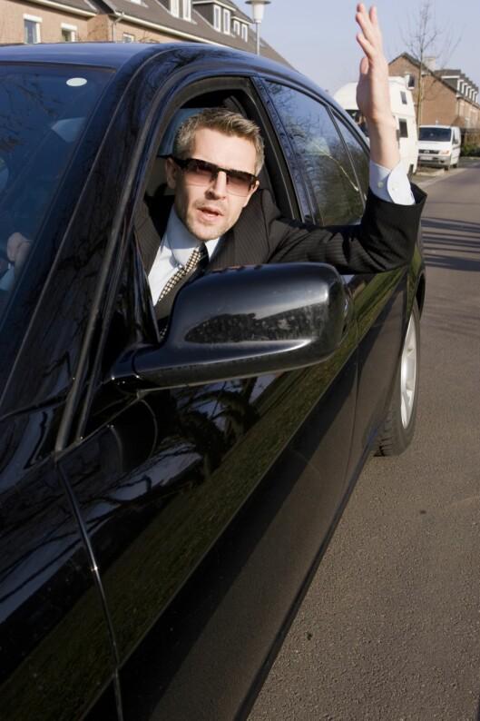 Det er lett å la seg irritere i trafikken. Men hjelper det egentlig?