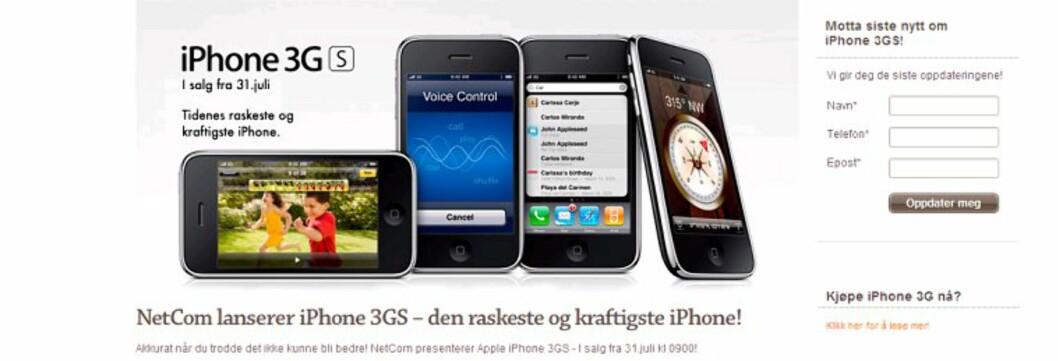 <strong><b>Julaften om sommeren:</strong> </b>Det er en stor dag for gadgetfolket når det Netcom tirsdag offentliggjorde prisene på den nye iPhone 3GS.