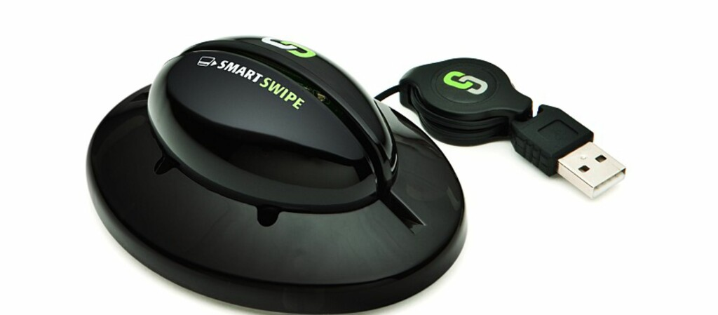 Nå kan du kjøpe din egen kortleser som du kan ha hjemme i stua. Foto: Smartswipe.com