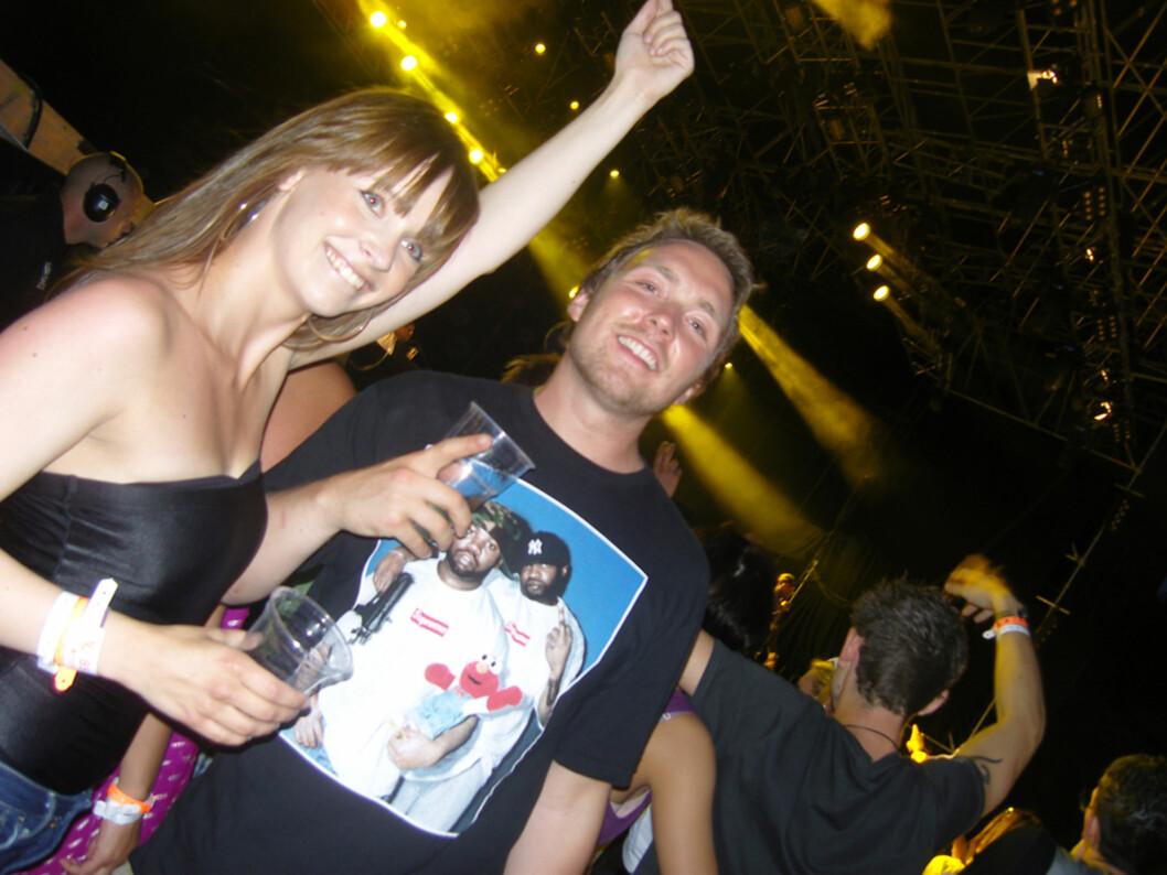 Christine Dancke og bookingguru Christoffer Hjelm var storfornøyde med Jeezy