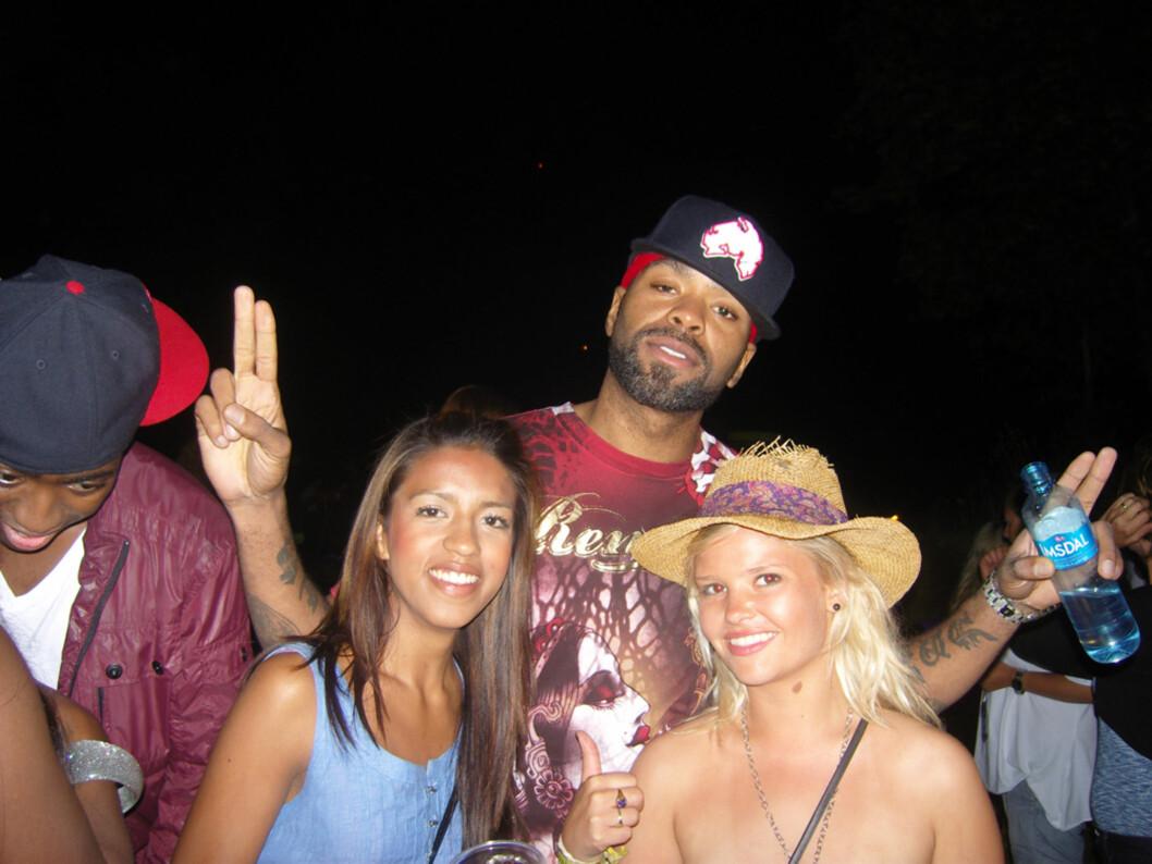 Method Man hilser.