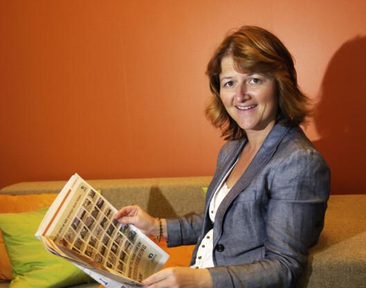 Ifølge Ellen Dokk Holm har finanskrisen ført til en større økonomisk bevissthet hos norske lånekunder.  Foto: Postbanken