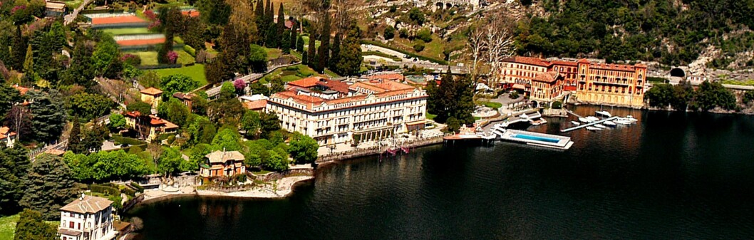 Ingenting å si på Villa D'Estes beliggenhet. Foto: Villa D'Este