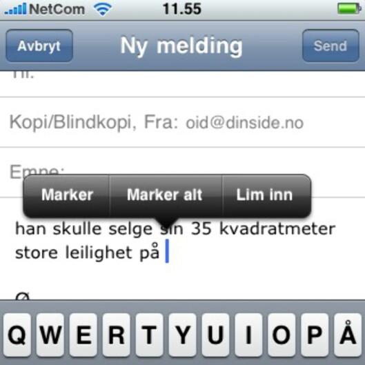 Tekstbehandling på iPhone er endelig så bra som den burde vært fra begynnelsen.