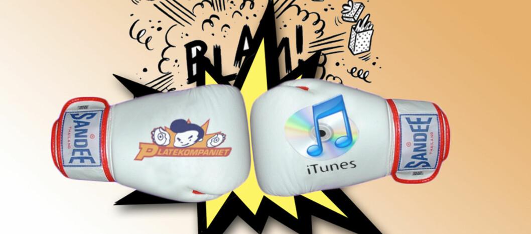 DUELL: iTunes Store vs. Platekompaniet
