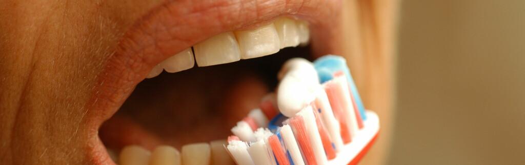 PUSS, PUSS: Her får du enda en god grunn til å ikke hoppe over tannpussen. Foto: colourbox.com