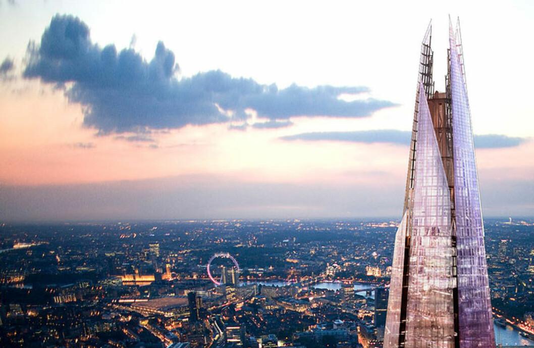 Slik blir London og Europas største bygning seende ut. Foto: Sellar Property Group