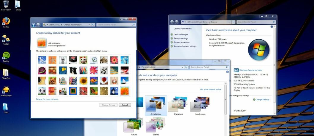 Windows 7-hemmeligheten avslørt