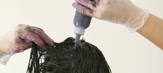 Carla skulle bare farge håret