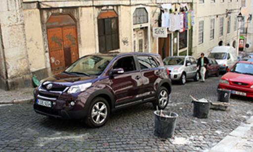 image: Firehjulsdrift, kjøreegenskaper og komfort