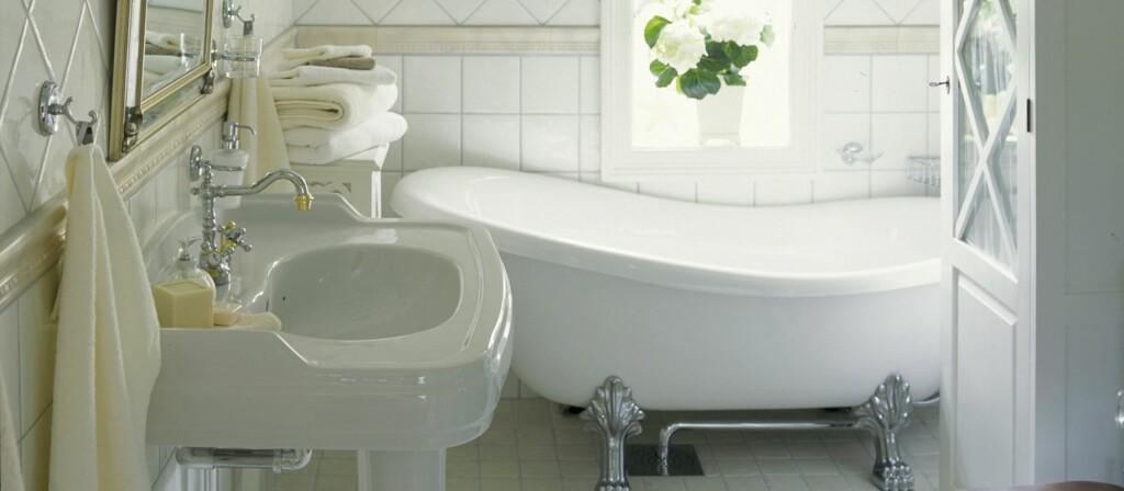 Det meste til baderommet får du kjøpt på nett.  Foto: Mona Gundersen/Ifi.no