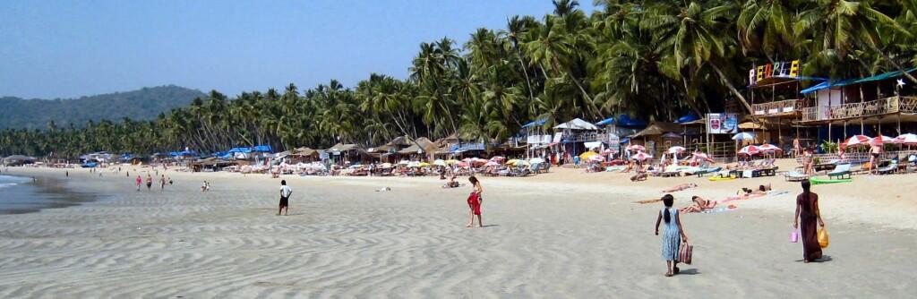 Palolem beach er definitivt vakker. Foto: Stine Okkelmo